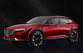 Mazda revealed the KOERU concept offering a mix of sporty and refined styling and performance at the Frankfurt Motor Show