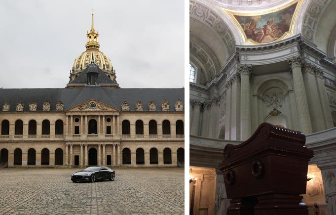 Mazda VISION COUPE Napoleon's tomb
