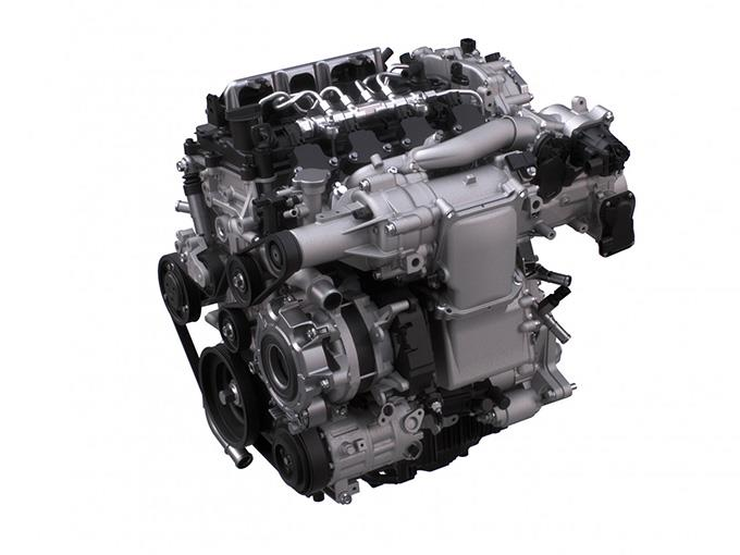 Mazda's SKYACTIV-X next-generation gasoline engine