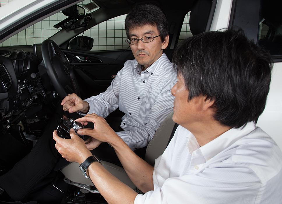 Letting driver talk with his car: applying Jinba Ittai concept to HMI.2
