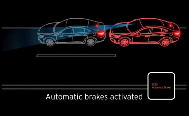 Mazda Scbs Sbs Pre Crash Safety Technology