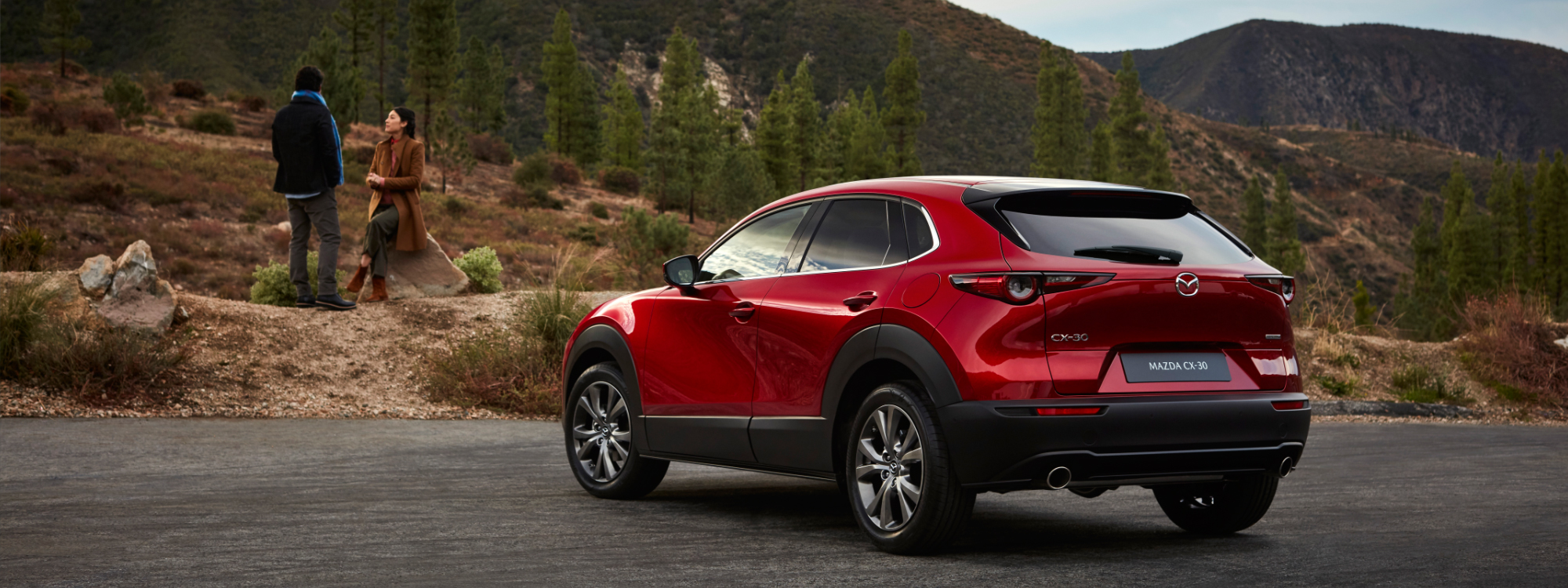 Mazda CX-30 in nature