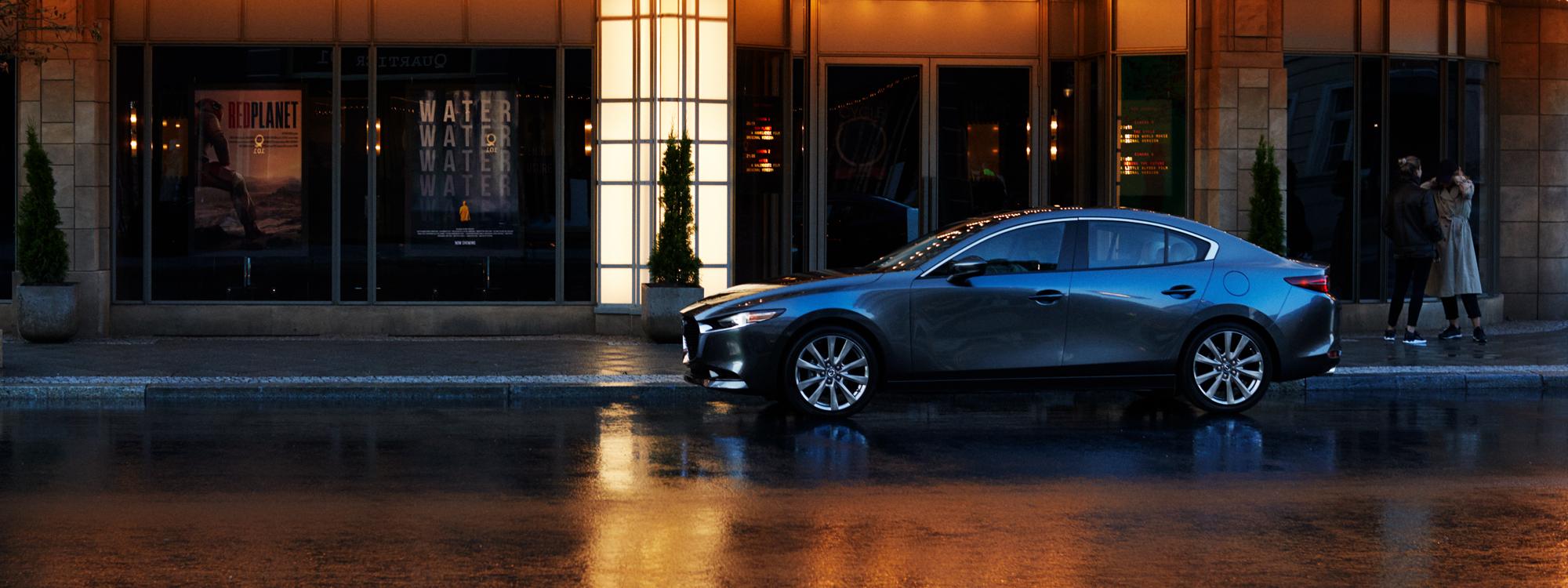 Mazda3 Sedan side view