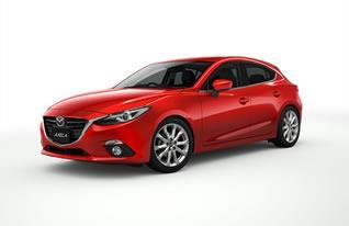 「アクセラ(海外名:Mazda3)」の累計生産台数が2014年1月22日に400万台達成。2003年6月の生産開始から10年7ヵ月での累計生産400万台達成は、マツダ車として最短記録の更新。