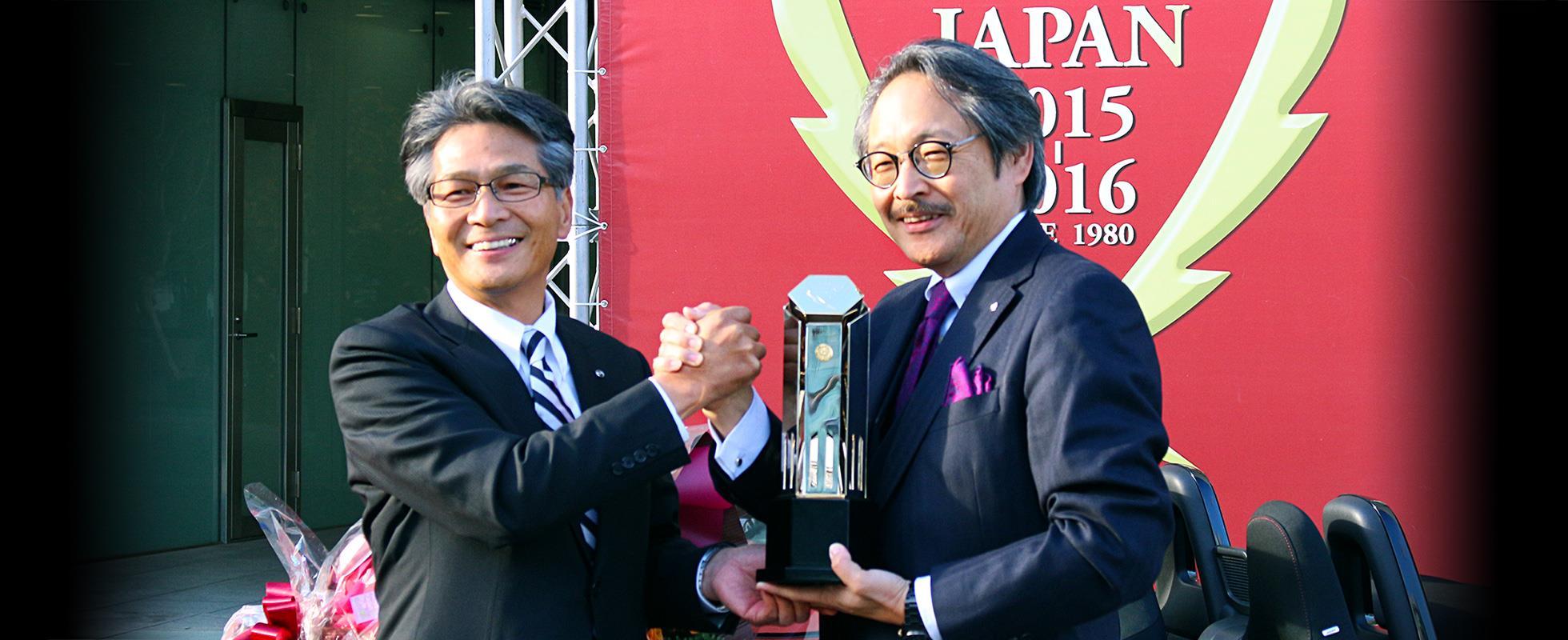 このたび、マツダのロードスターが日本カー・オブ・ザ・イヤーを受賞しました。