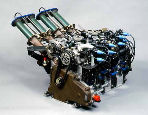 R26B 4 Rotor Rotary Engine