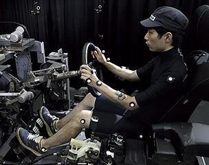 ドライビングポジションの測定