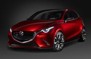 The Mazda HAZUMI concept was revealed at the Geneva Motor Show, foreshadowing Mazda's next-generation compact car.