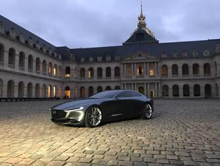 "Mazda's Vision Coupe is named ""Most Beautiful Concept Car of the Year"" at the Festival Automobile International in France"