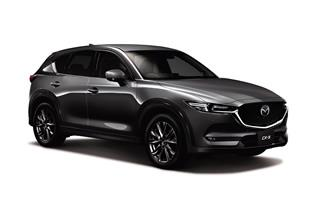 Announces update for CX-5; adds Skyactiv-G 2.5T to engine lineup; launches Exclusive Mode special edition