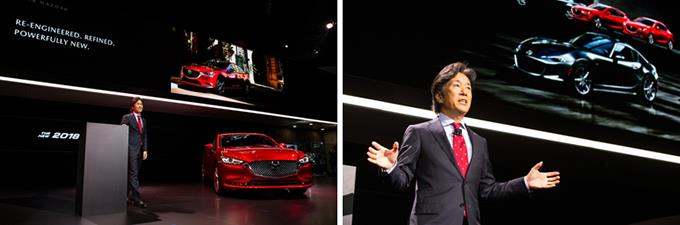 Masahiro Moro and the new Mazda6