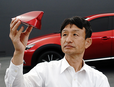 Mazda's First Shark Fin Antenna Enhances the Beauty of KODO