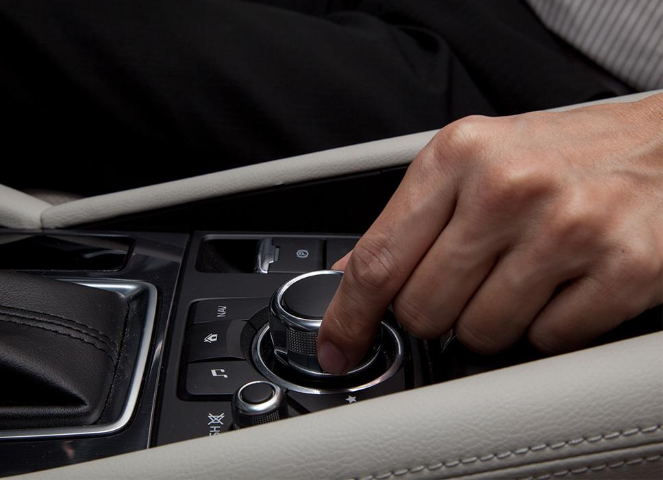 Commander Control ensures safe information operation during driving.2