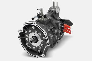 The unique permanent-magnet three-phase alternating current synchronous electric motor with a unique coil-switching system produces powerful take-off and acceleration as well as a relaxed acceleration feel in the high range. When the vehicle decelerates, the motor works as a generator and converts the vehicles