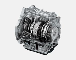 Highly efficient new-generation 6-speed automatic transmission has the direct feel of a manual and contributes to better fuel economy