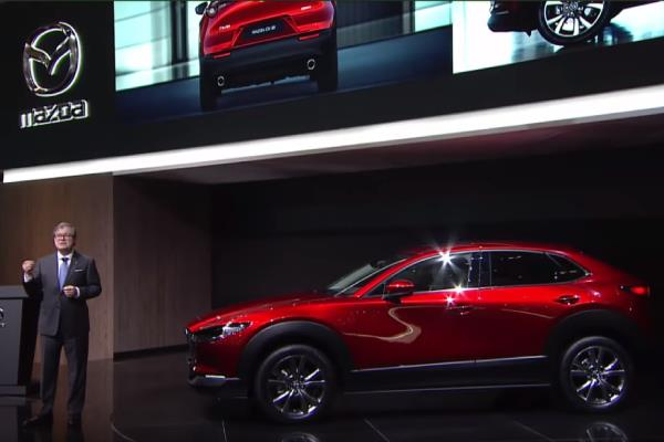 2019 Geneva Motor Show: <br />Mazda Press Conference about Mazda CX-30