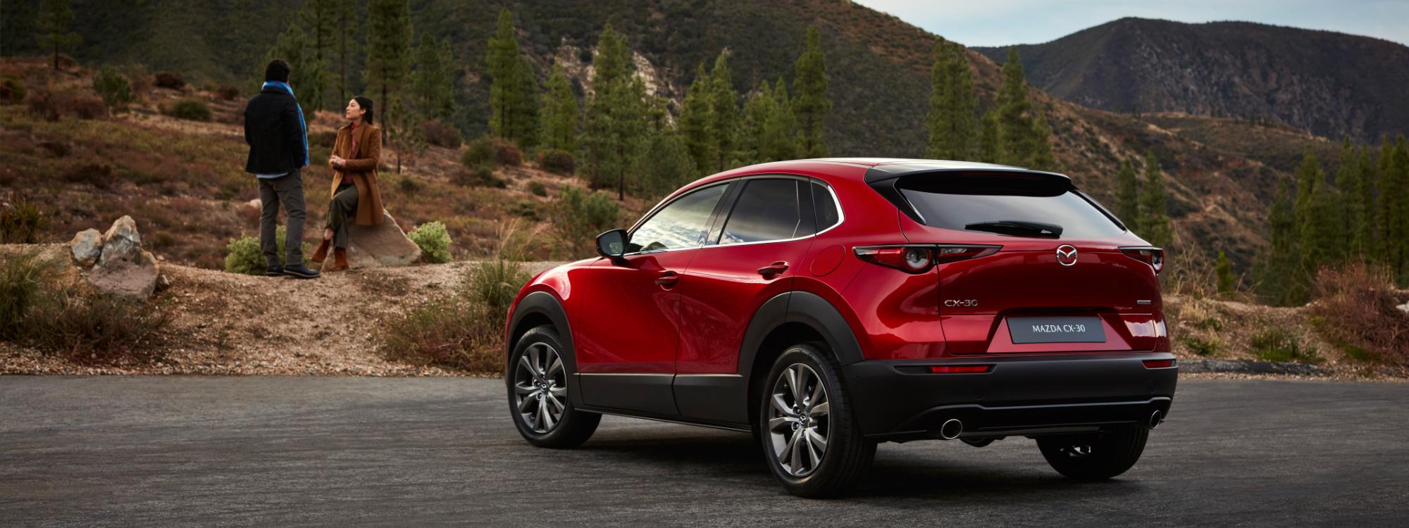 Mazda CX-30 in nature