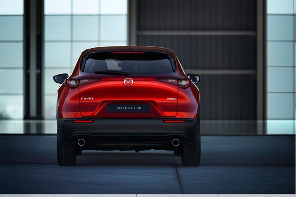 Mazda CX-30 rear view