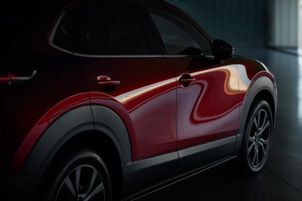 Mazda CX-30 rear view of oblique angle