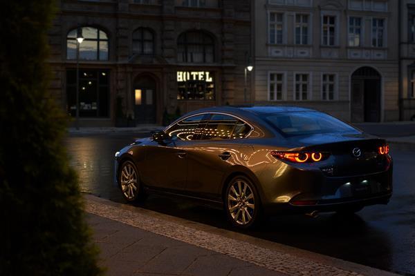 Mazda3 Sedan rear view