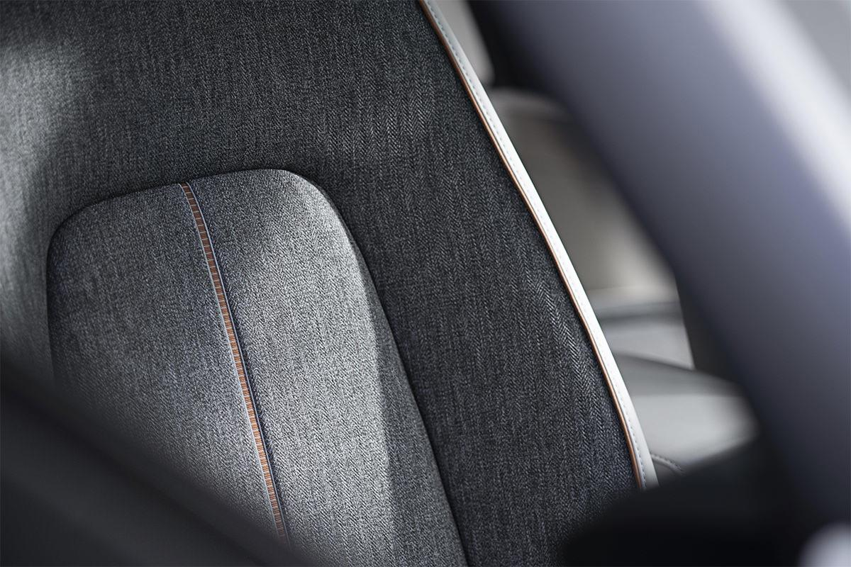 MAZDA MX-30 seat with sustainability material