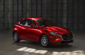 Launches Demio under the new name of Mazda2 in Japan