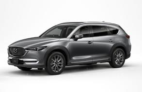Updates three-row crossover SUV, Mazda CX-8