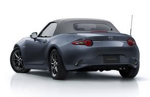 Updates Mazda Roadster (MX-5), adding the Silver Top  special edition model