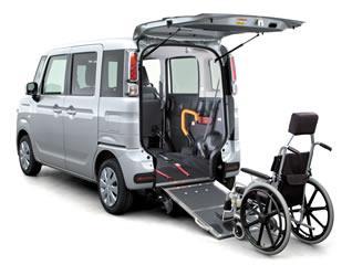「フレアワゴン 車いす移動車」全面改良して発売