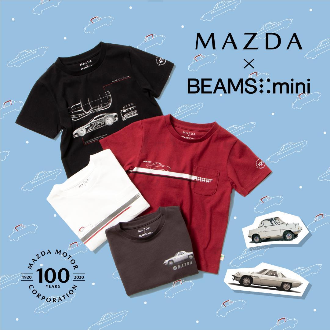BEAMS miniとのお子さま向けコラボレーションTシャツ