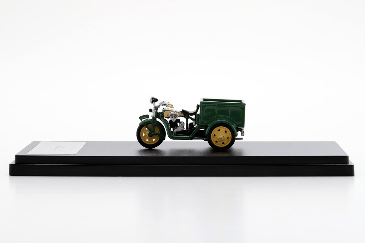 DA型三輪車 モデルカー 1/43 100周年限定モデルのサイドビュー