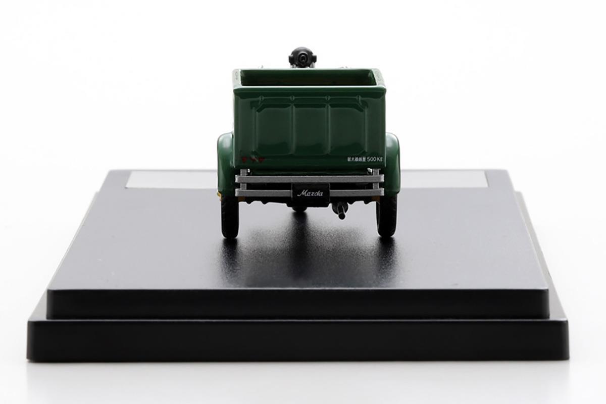 DAモデル型三輪車 モデルカー 1/43 100周年限定モデルのリアビュー