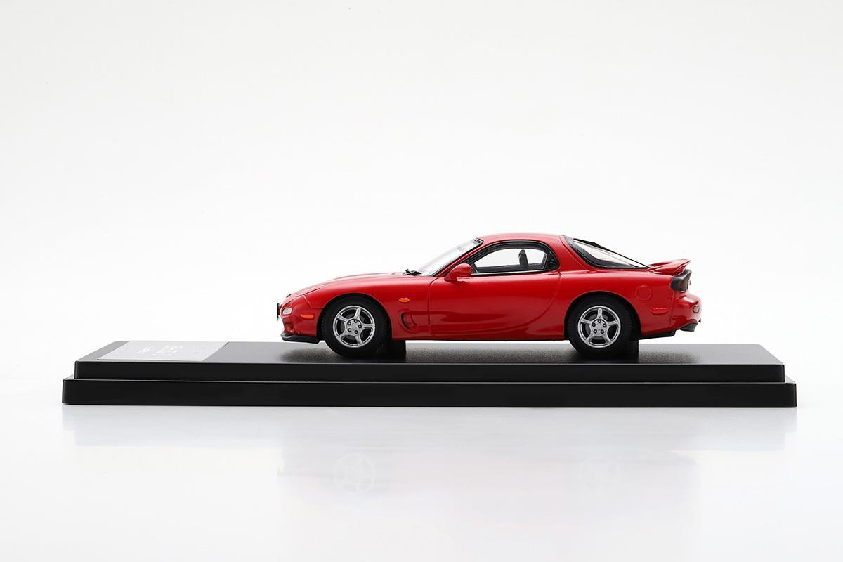 アンフィニRX-7 FD モデルカー 1/43 100周年限定モデルのサイドビュー