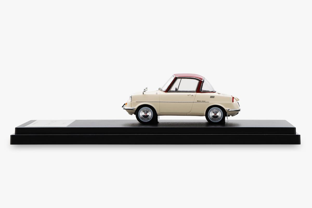 R360 COUPE モデルカー 1/43 100周年限定モデルのサイドビュー