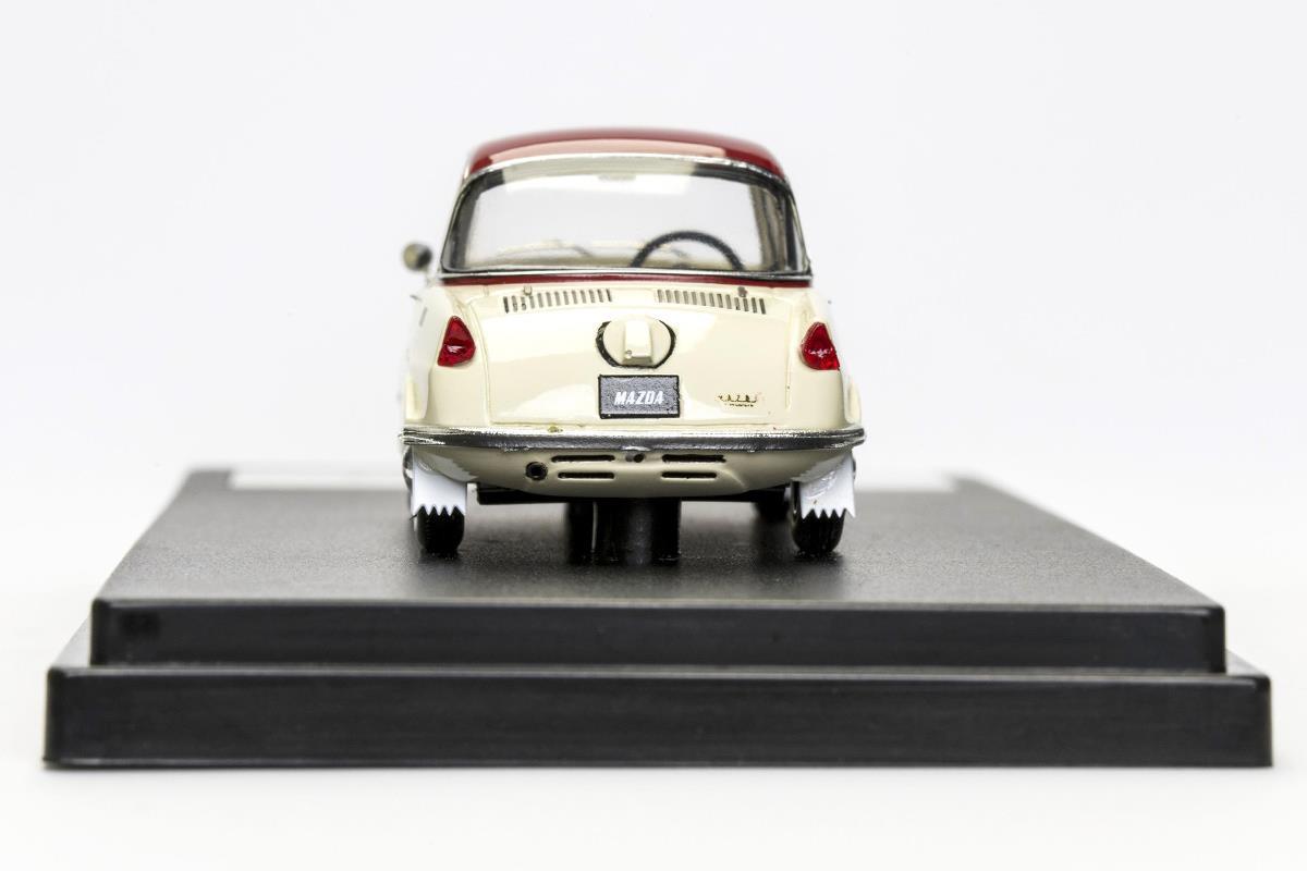 R360 COUPE モデルカー 1/43 100周年限定モデルのリアビュー