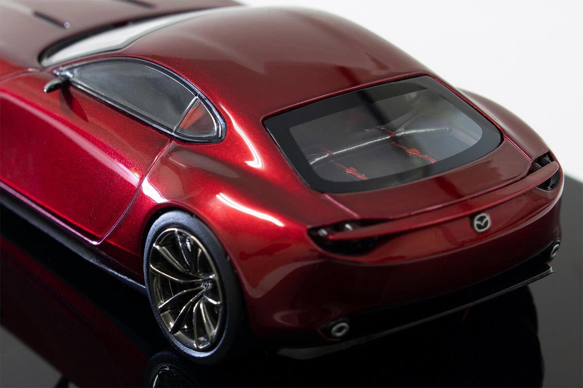 RX-VISION モデルカー 1/43 100周年限定モデルの詳細写真
