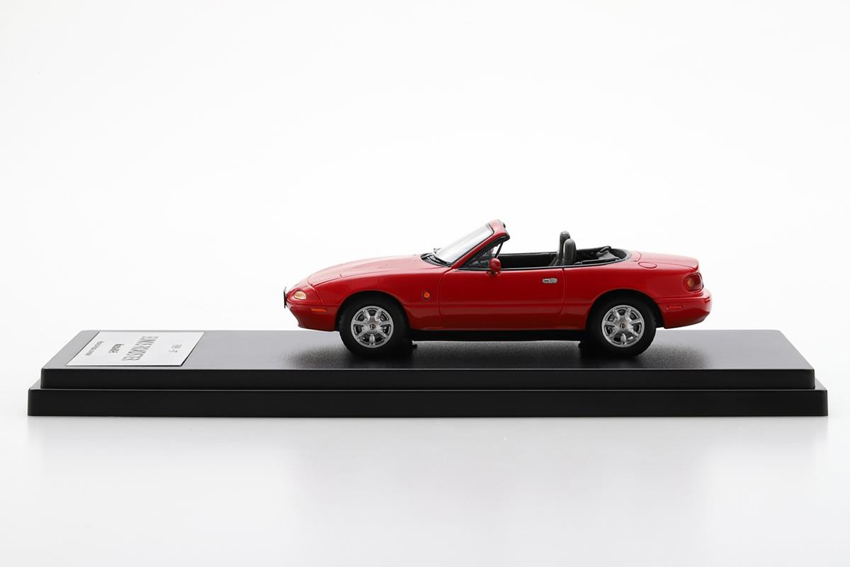 EUNOS ROADSTER NA モデルカー 1/43 100周年限定モデルのサイドビュー