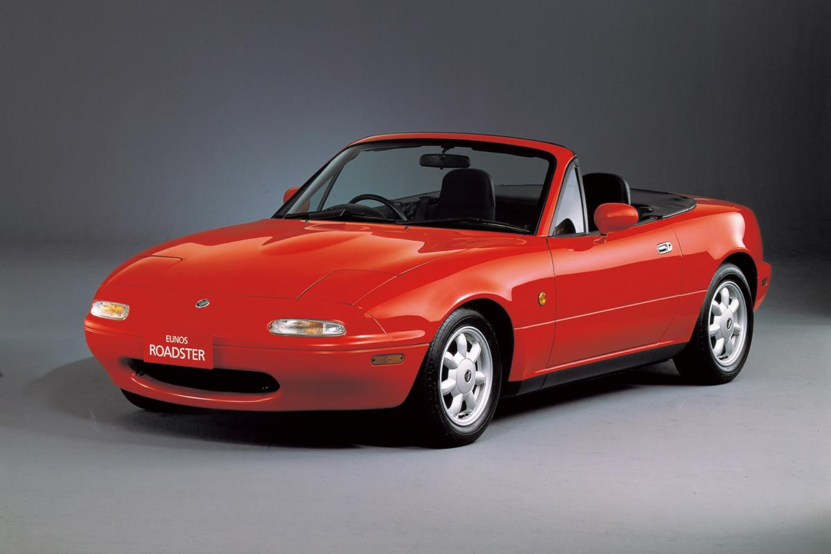 EUNOS ROADSTER NAの実車