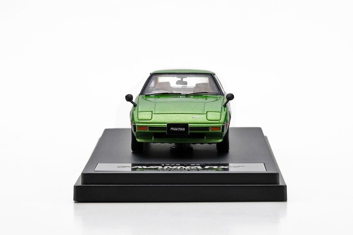 サバンナ RX-7 SA モデルカー 1/43 100周年限定モデルのフロントビュー