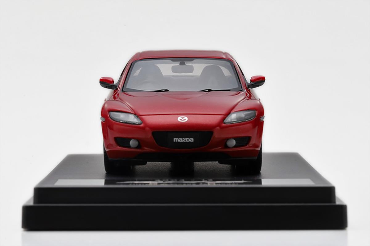 RX-8 モデルカー 1/43 100周年限定モデルのフロントビュー