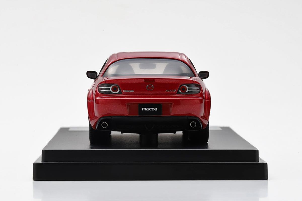 RX-8 モデルカー 1/43 100周年限定モデルのリアビュー