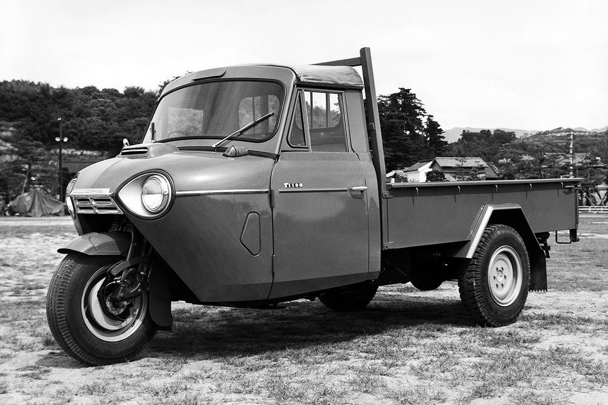 MAZDA T1100の実車