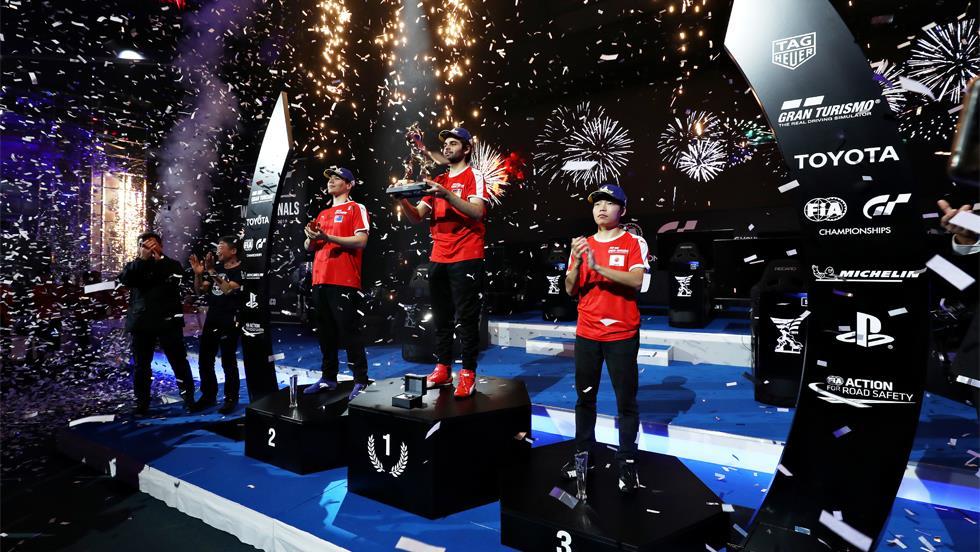 2018年に始まったFIA グランツーリスモ チャンピオンシップイメージ