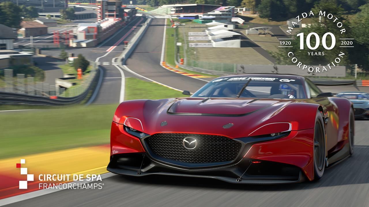 MAZDA 100周年記念 RX-VISION GT3 CONCEPT タイムトライアルチャレンジイメージ
