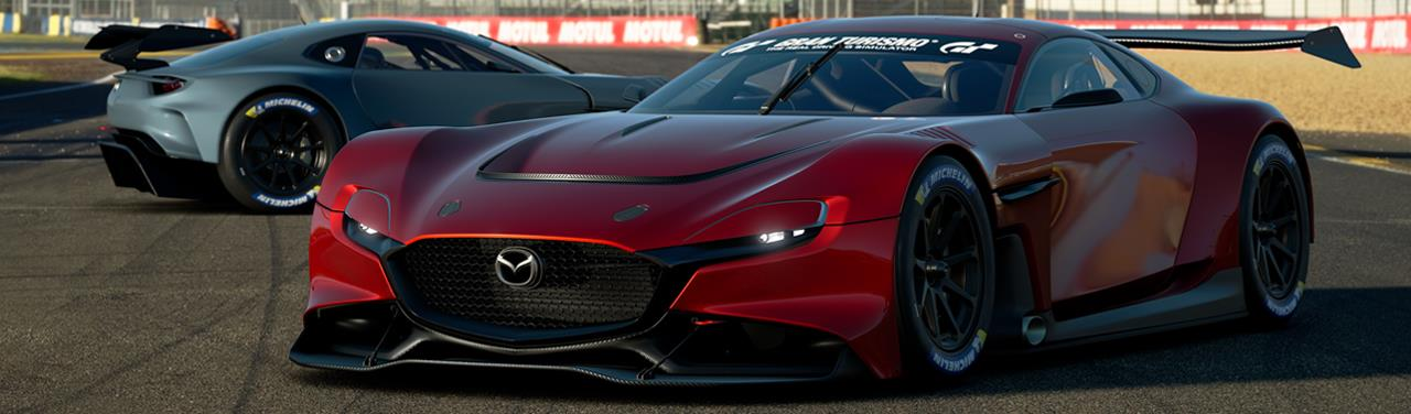MAZDA RX-VISION GT3 CONCEPイメージ