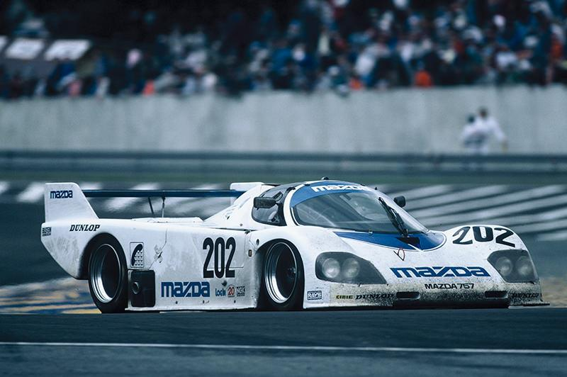 Mazda 757 becomes the first Japanese car to achieve a top 10 finish