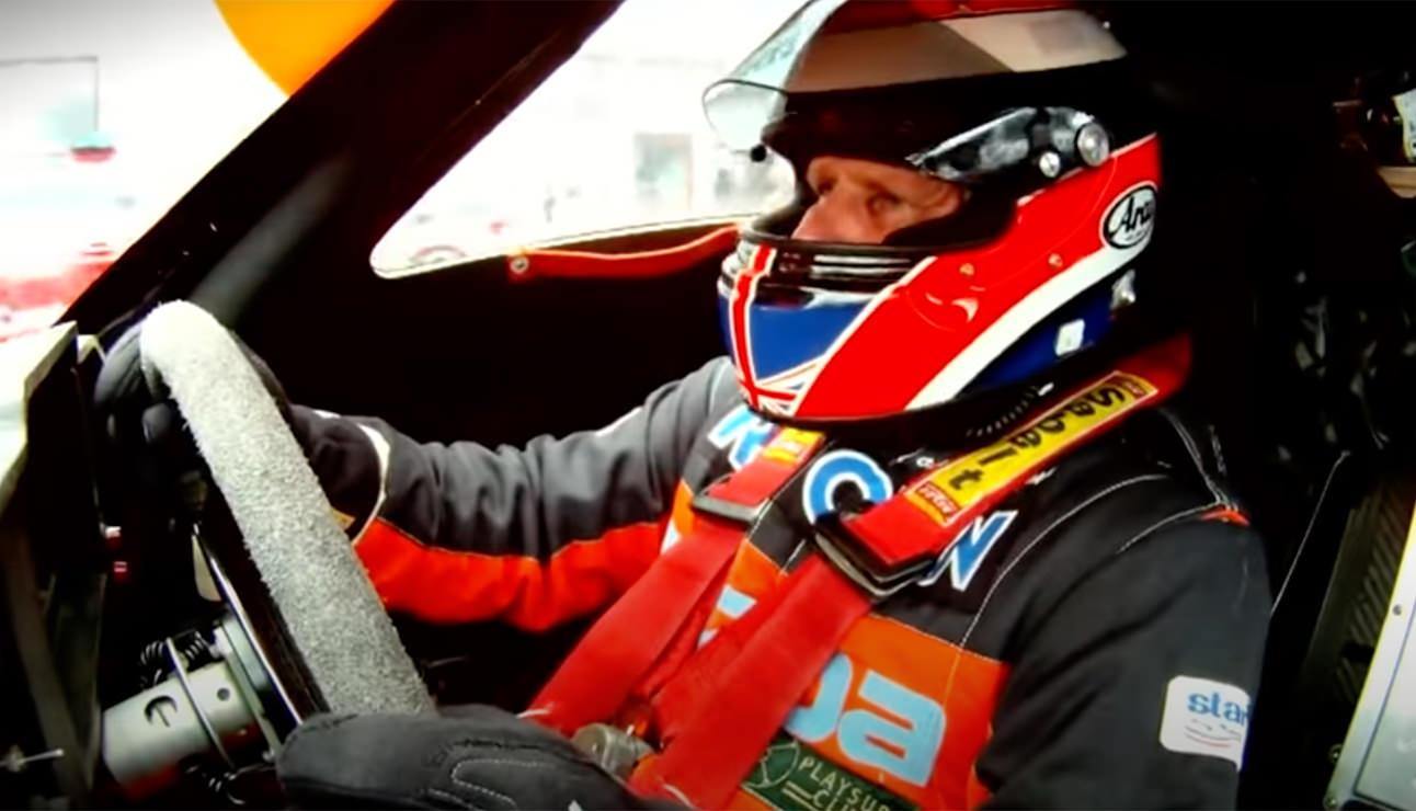 ONBOARD LAP WITH JOHNNY HERBERT