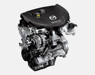 世界一の低圧縮比(14.0)を達成した、 新世代高効率クリーンディーゼルエンジン(※)
