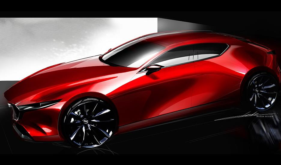 This is Mazda Design.
