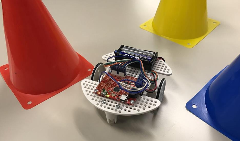 キッズ走行ロボット開発体験